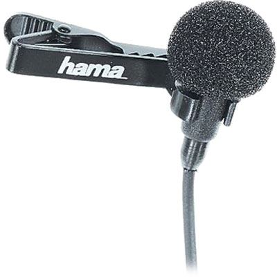 Bargain Hama LM 09 Lavalier Clip Microphone Stockists