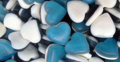 Bargain Haribo Blue Heart Throbs Stockists