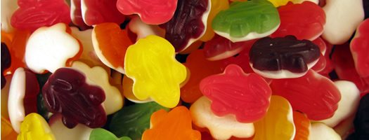 Bargain Haribo Fruity Frogs Stockists
