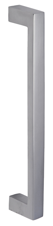 Stockists of Heritage V2056 Satin Chrome Rectangular Pull Handle 245mm