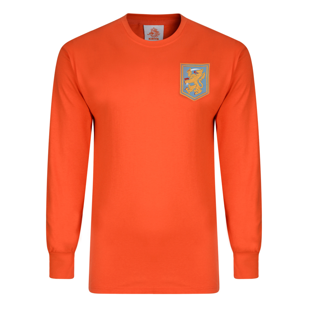 Bargain Holland 1968 Long Sleeve Retro Football Shirt Stockists