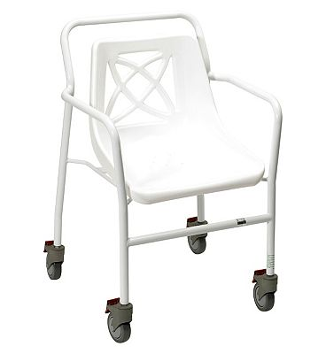 Bargain Homecraft Harrogate Wheeled Shower Chair   Fixed Height Stockists