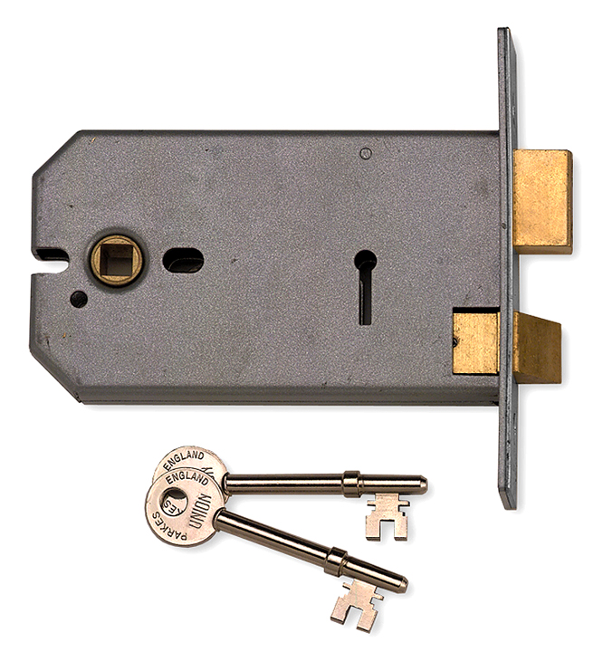 Bargain Horizontal 124mm Mortice Door Lock 3 Lever Stockists