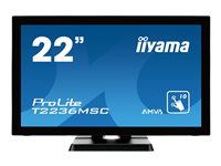 "Bargain Iiyama ProLite T2236MSC B2   LED monitor   Full HD (1080p)   22"" Stockists"