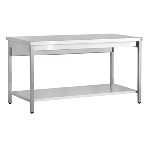 Bargain Inomak Stainless Steel Centre Table TL719   1900mm Stockists