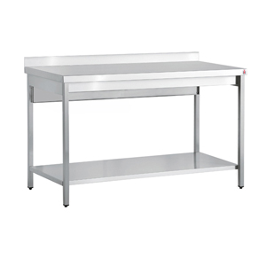 Bargain Inomak Stainless Steel Wall Bench TL714U   1400mm Stockists