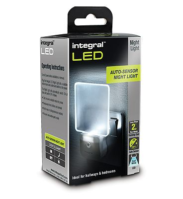 Bargain Integral LED Auto Sensing Night Light Stockists