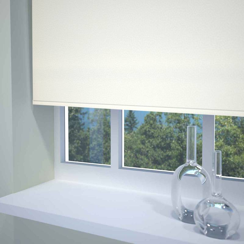 Stockists of Ivory Malli Roller Blind
