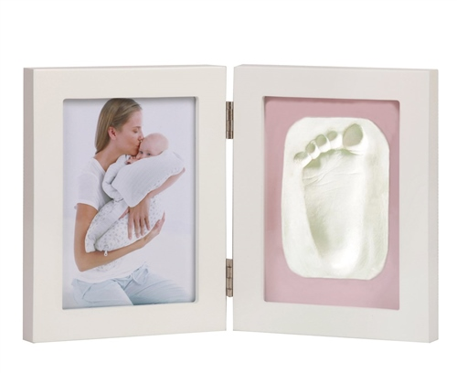 Bargain Jane Photo Frame with 2 segments (Photo and Clay Print) Stockists
