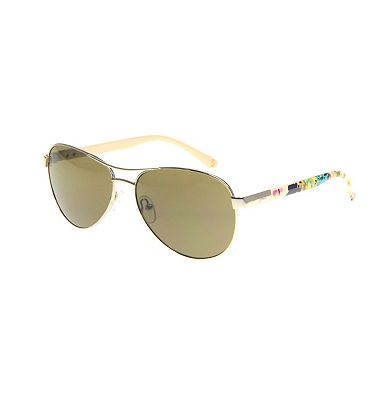 Bargain Joules Womens Gold Aviator with signature print arms Stockists