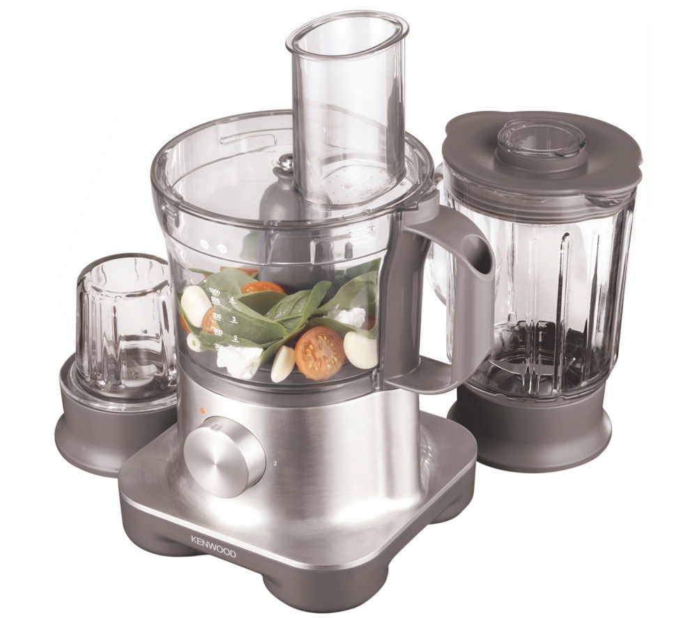 Bargain KENWOOD FPM260 Multipro Food Processor - Silver, Silver Stockists