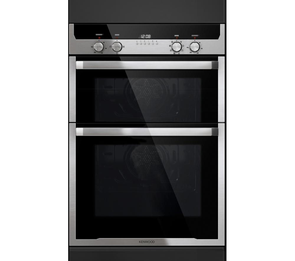 Bargain KENWOOD KD1501SS Electric Double Oven - Stainless Steel, Stainless Steel Stockists