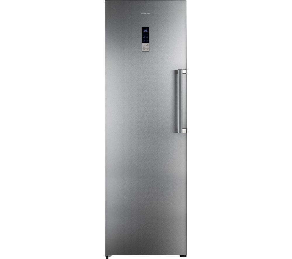 Bargain KENWOOD KTF60X15 Tall Freezer - Stainless Steel, Stainless Steel Stockists