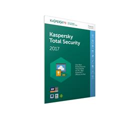 Bargain Kaspersky Lab Total Security 2017 Box Pack (1 year) 5 Devices (Frustration Free Packaging) Stockists