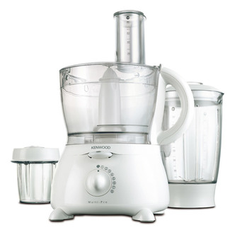 Bargain Kenwood FP580 Food Processor Liquidiser in White Stockists