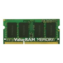 Bargain Kingston ValueRAM 4GB DDR3 1600MHz Non ECC SO DIMM CL11 SR x8 Stockists