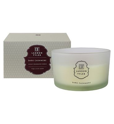Bargain Landon Tyler three wick candle dark cashmere Stockists