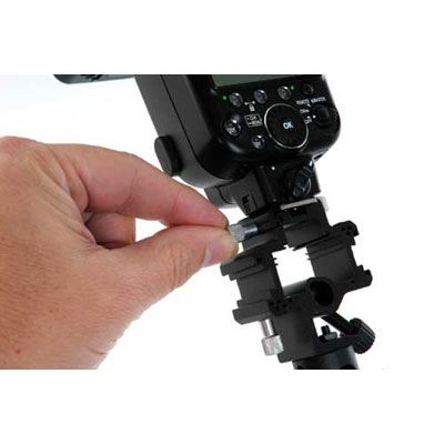 Bargain Lastolite TriFlash Bracket with Locking Shoe Mount Stockists