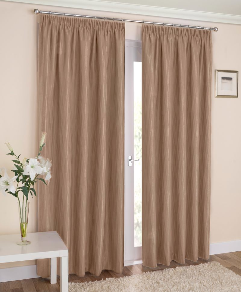 Stockists of Latte Galaxy Ready Made Thermal Blackout Curtains