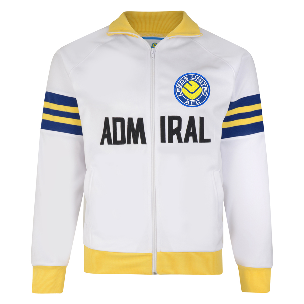Stockists of Leeds United 1972 FA Cup Final Track Retro Jacket