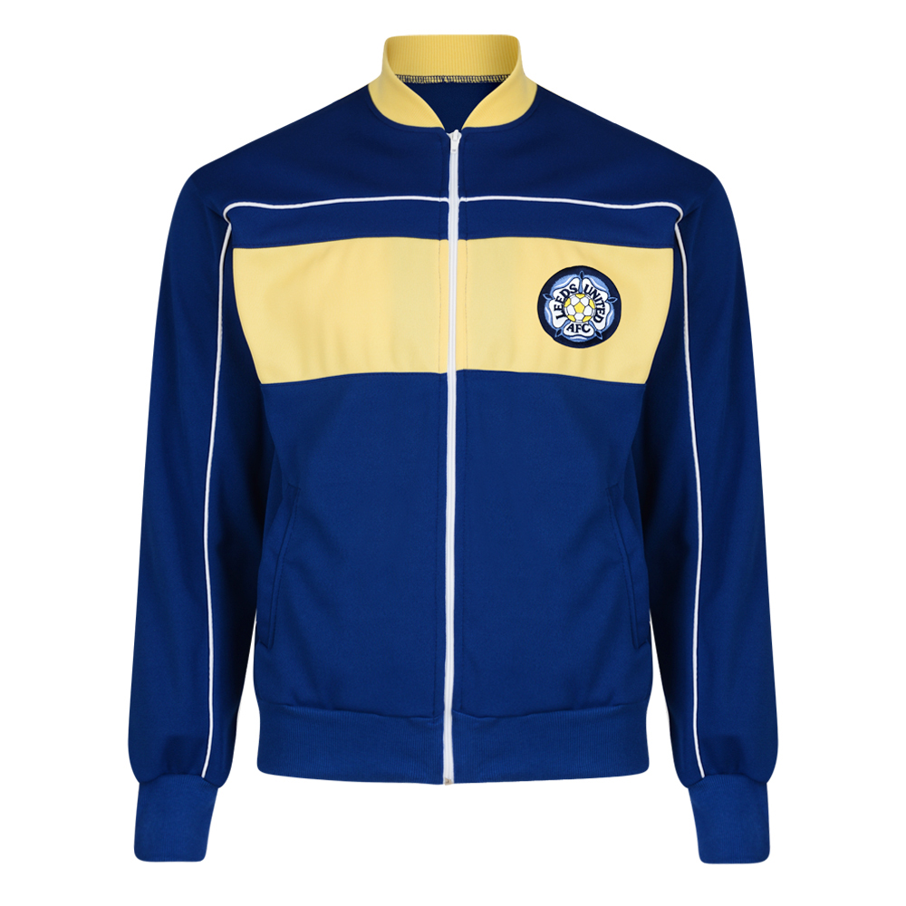 Bargain Leeds United 1984 Retro Track Jacket Stockists