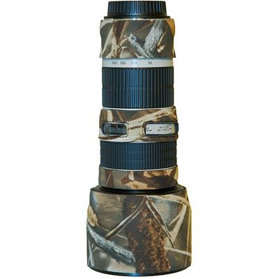 Bargain LensCoat for Canon 70 200mm f/4 L non IS   Realtree Advantage Max4 HD Stockists
