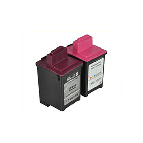 Bargain Lexmark IN700/ IN710C (13400HC/13619HC) Compatible Black & Colour Ink Cartridge Pack Stockists