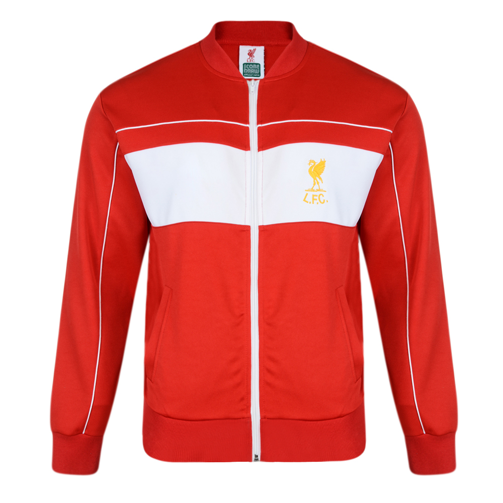 Bargain Liverpool FC 1982 Retro Track Jacket Stockists