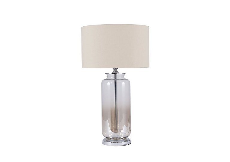 Bargain Lustre Ombre Glass Table Lamp Stockists