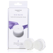 Bargain Magnitone London Silk Bliss Replacement Brush Heads with SkinKind™ Bristles (Set of 2) Stockists
