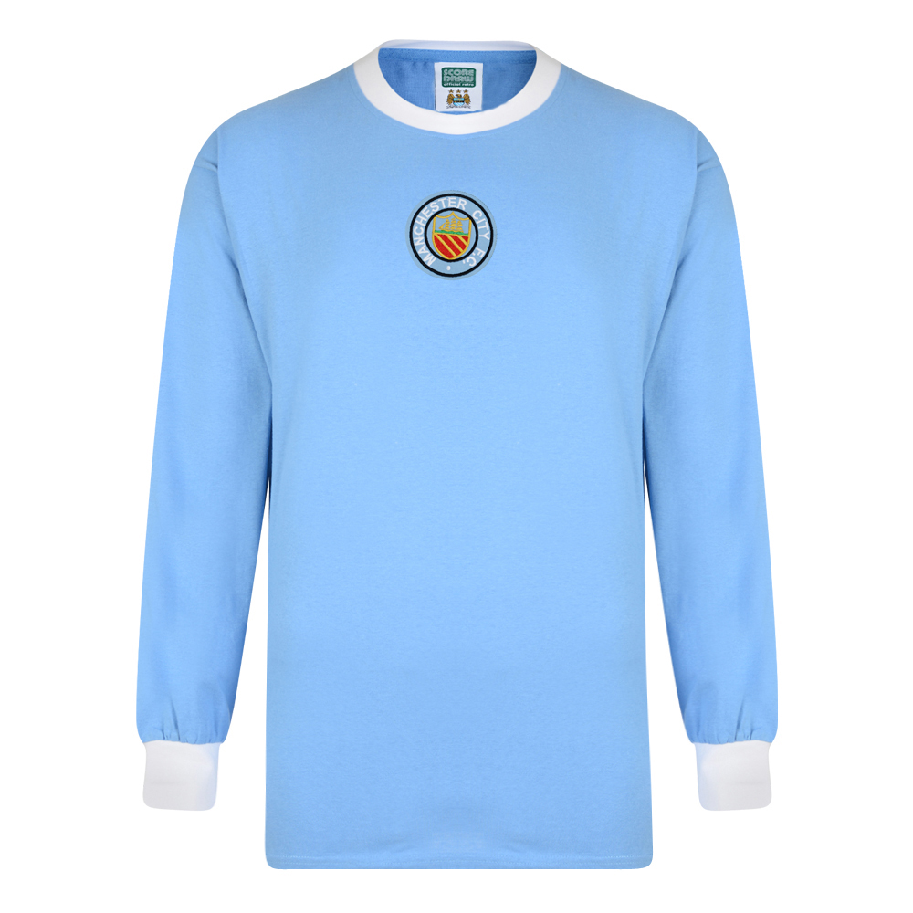 Stockists of Manchester City 1956 FA Cup Final Retro Shirt