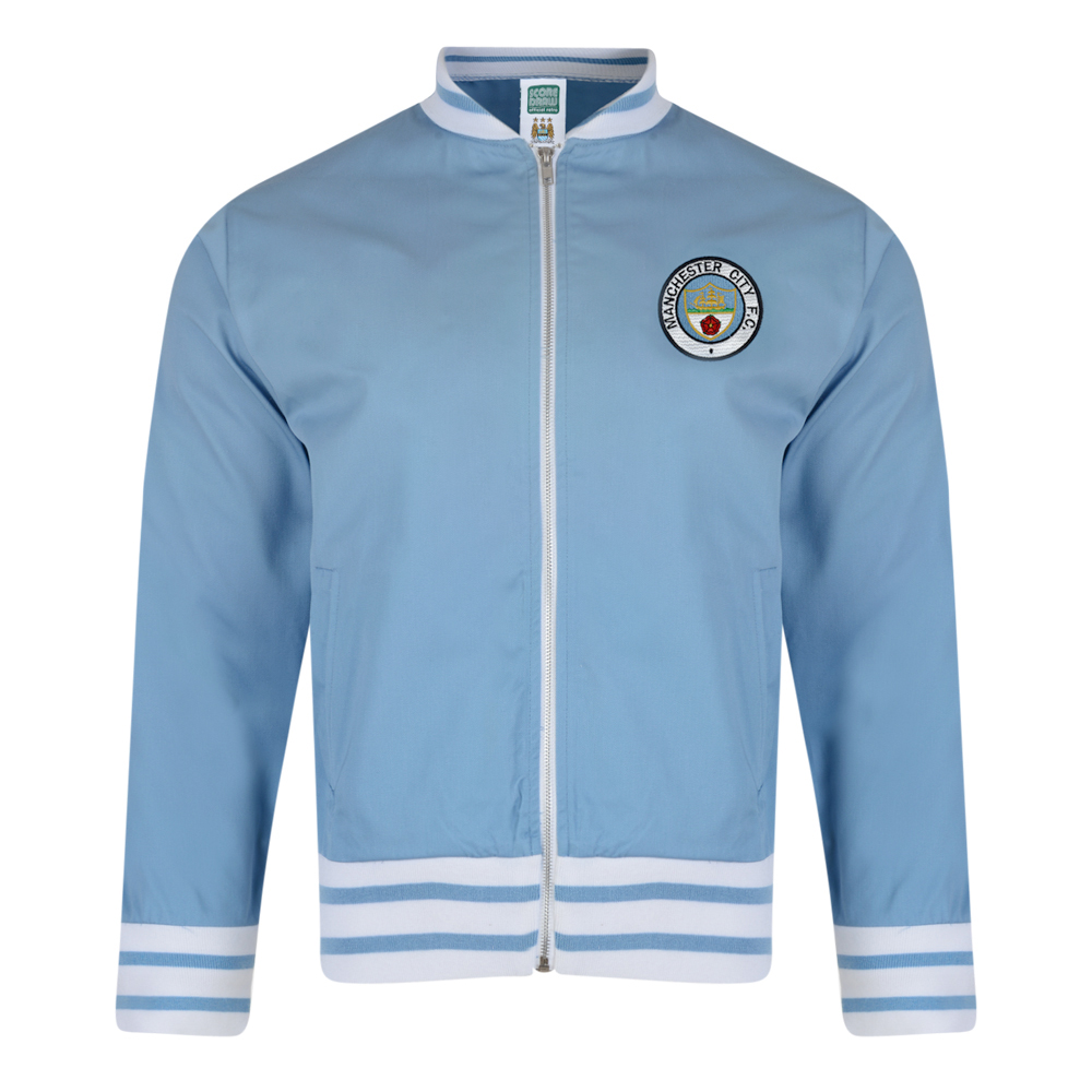 Best Manchester City 1972 Retro Track Jacket Stockists