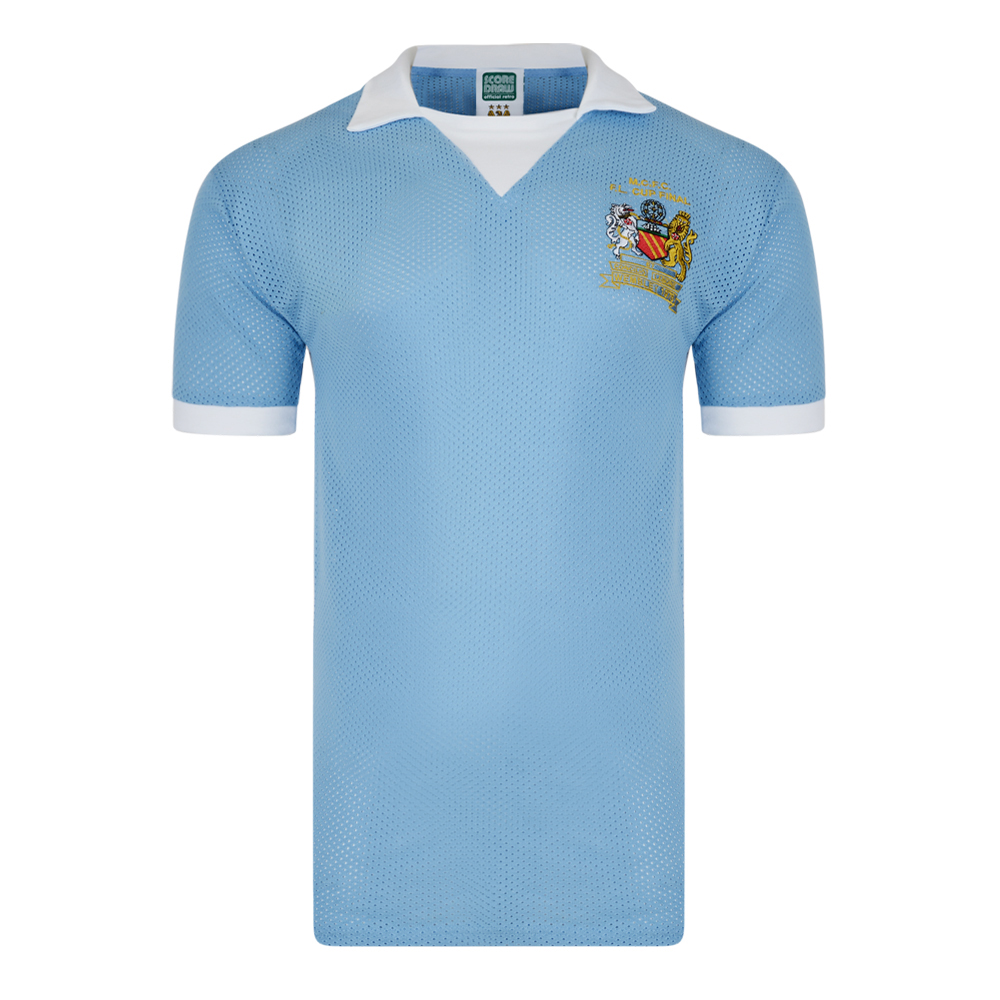 Stockists of Manchester City 1976 Retro Football Shirt