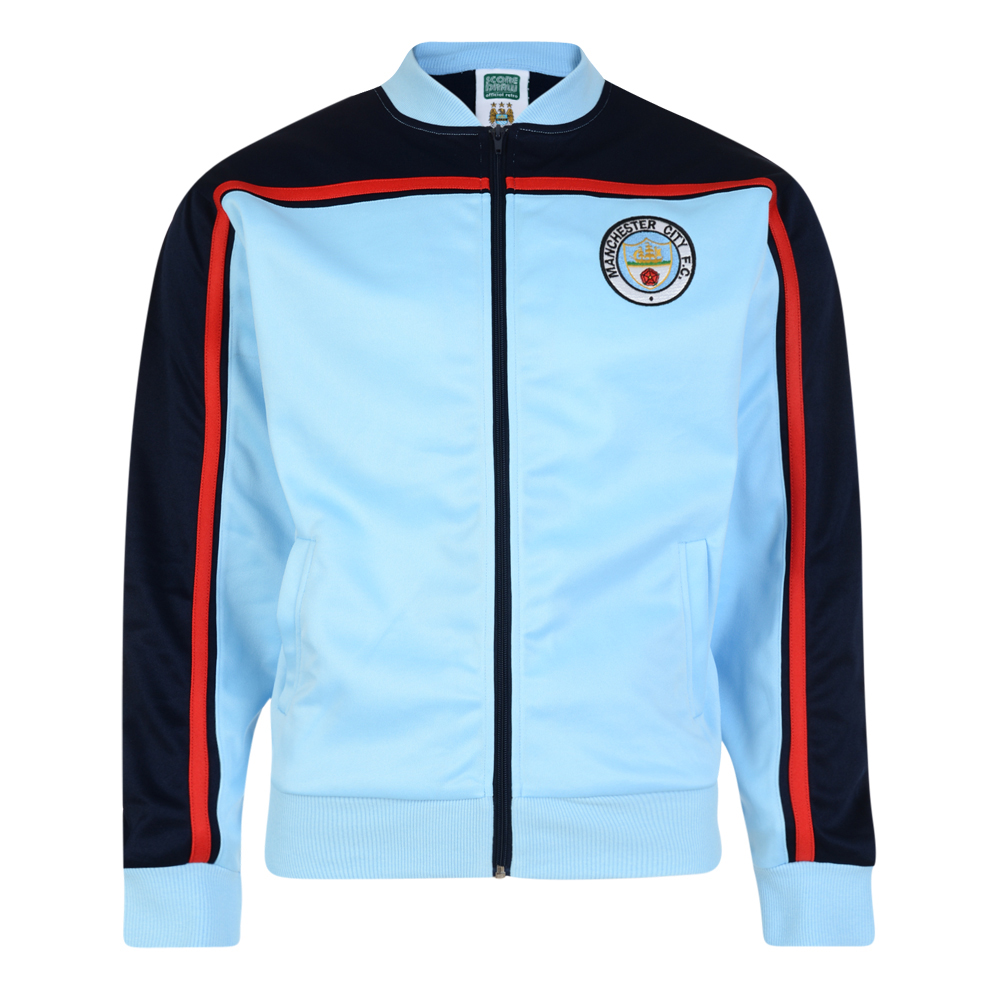 Stockists of Manchester City 1982 Retro Track Jacket
