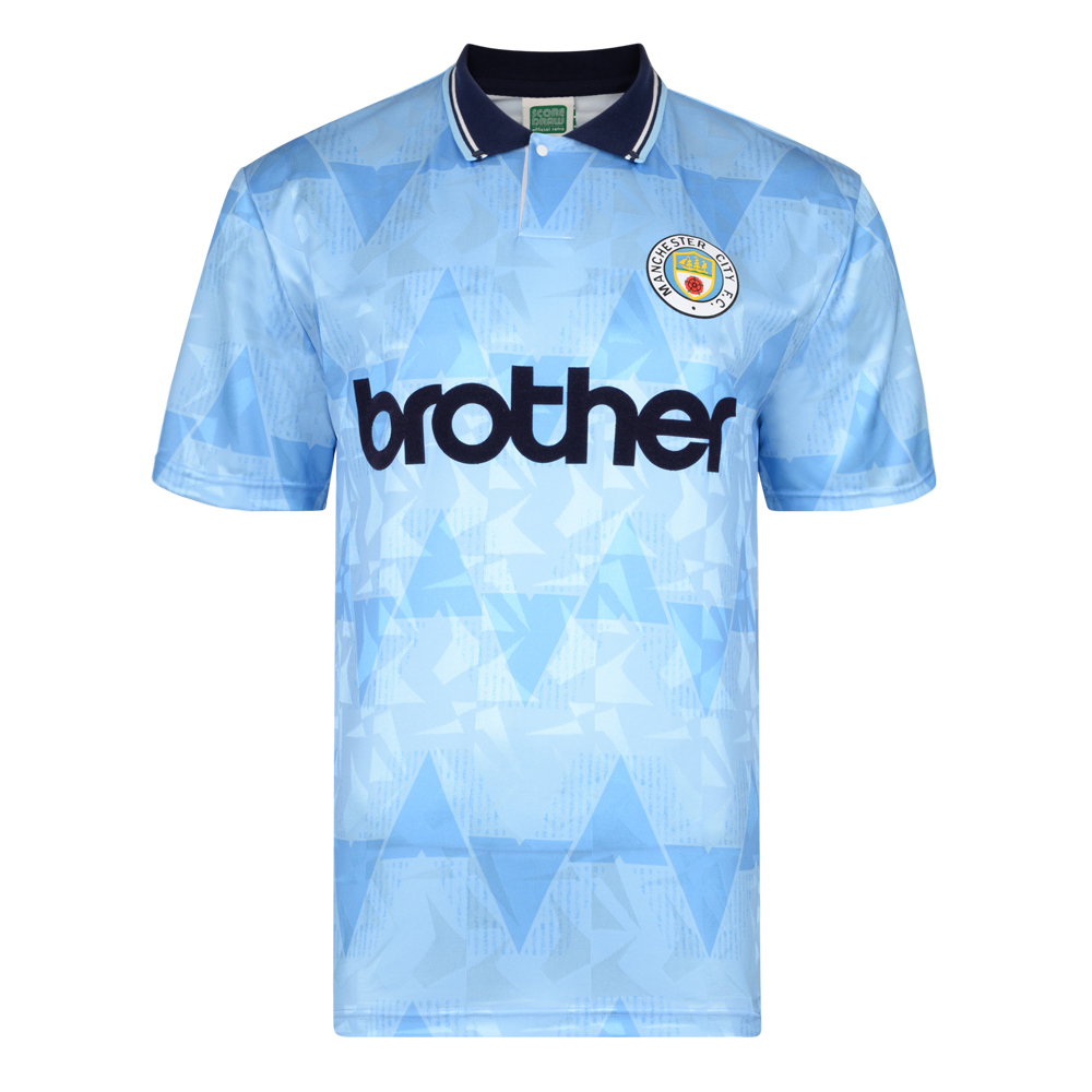 Stockists of Manchester City 1989 Retro Football Shirt