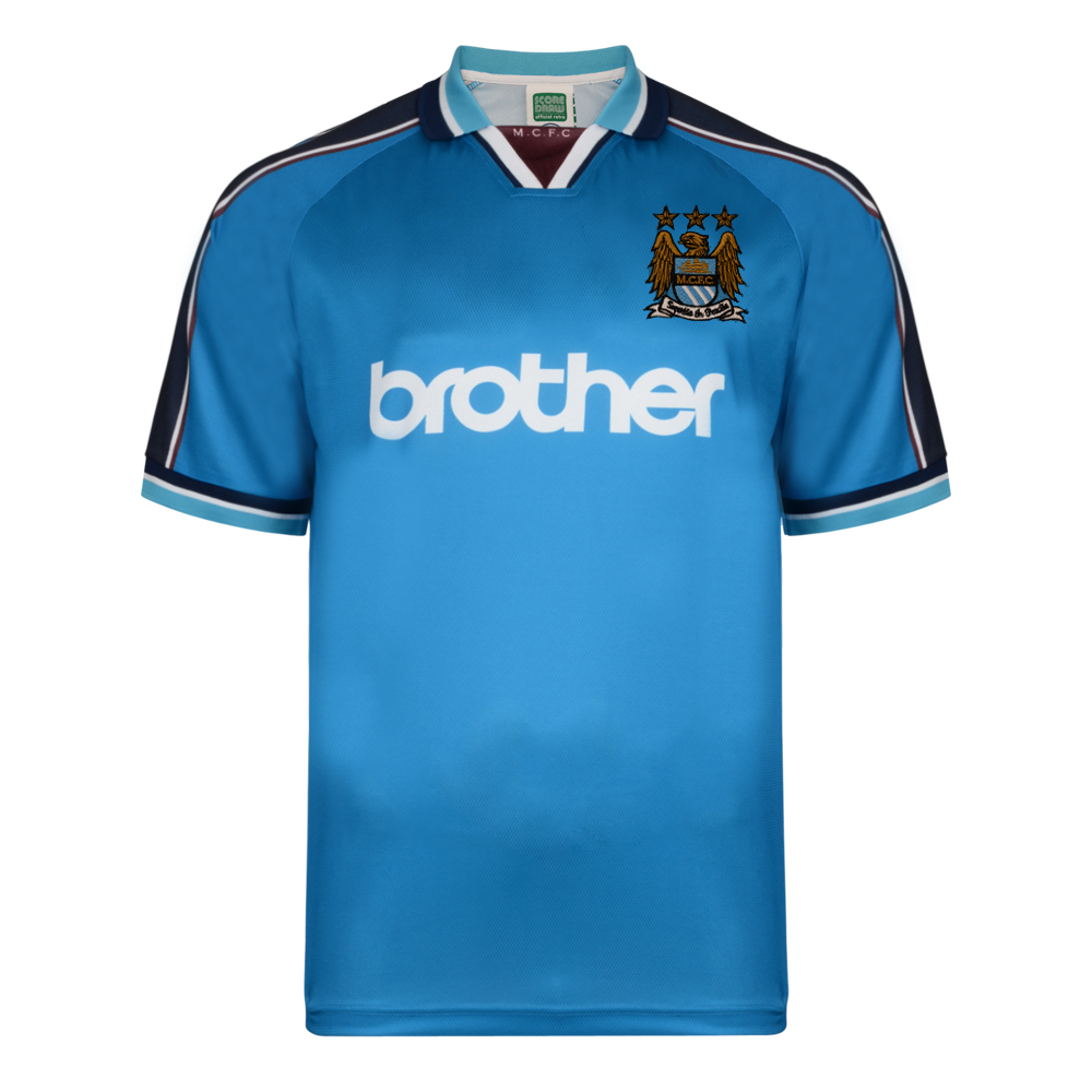 Best Manchester City 1998 Polyester Retro Shirt Stockists
