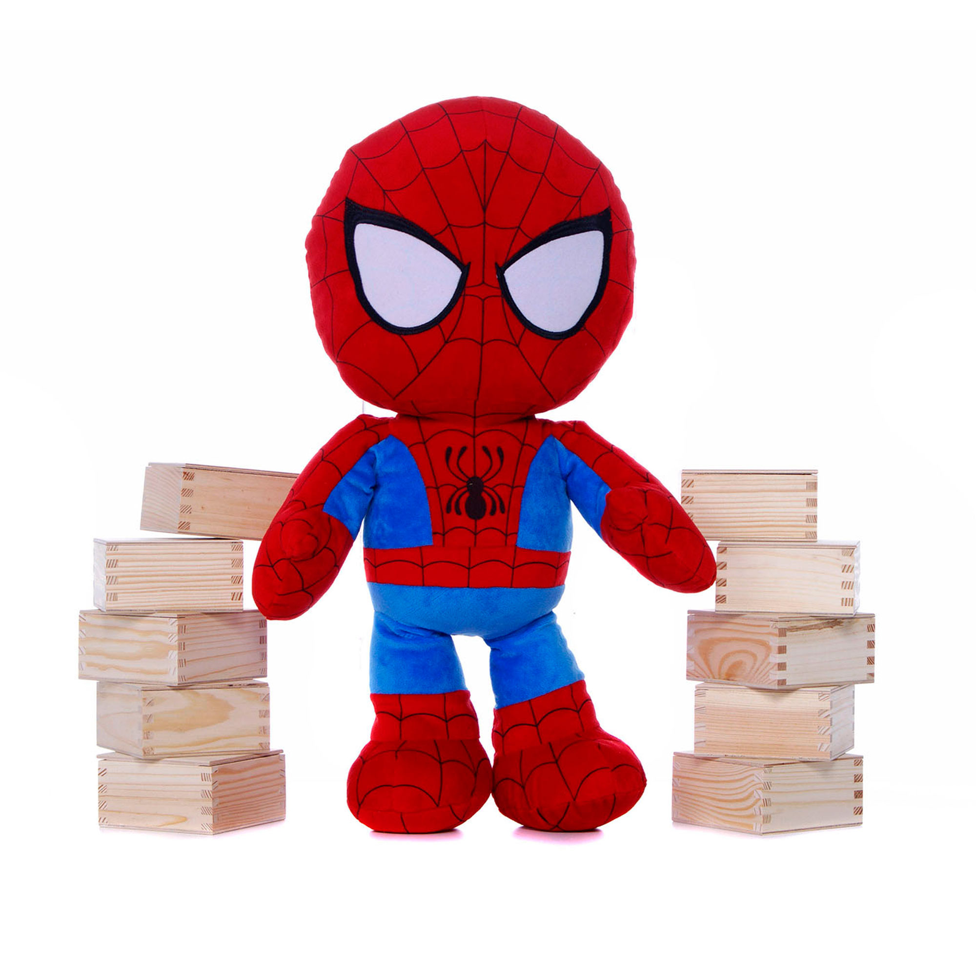 "Bargain Marvel Superhero Squad Chunky Spider-Man 20"" Soft Toy Stockists"