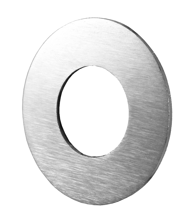 Stockists of Matt Chrome Round Repair Ring for Door Handles or Cylinders