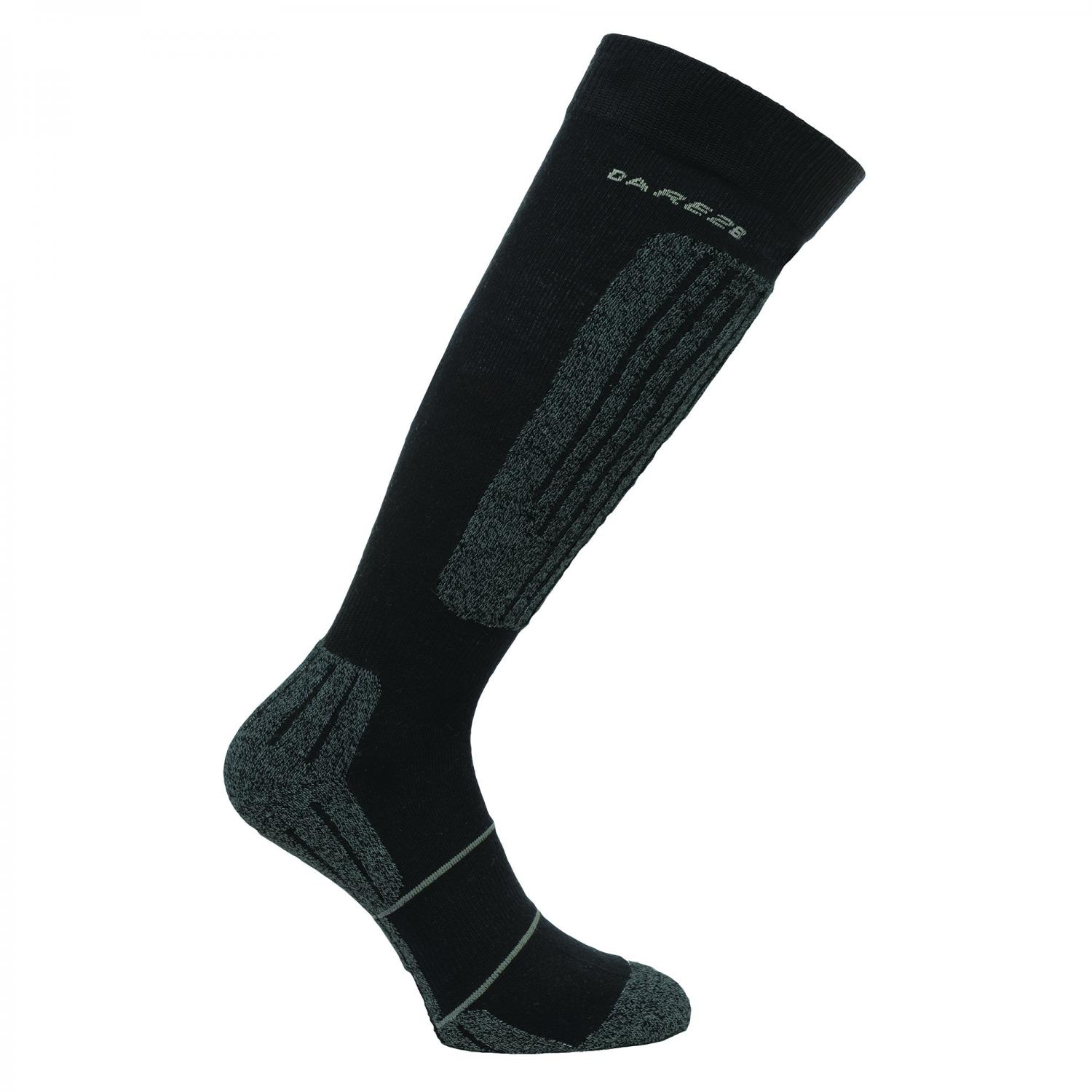 Bargain Mens Contoured II Ski Sock Black Stockists