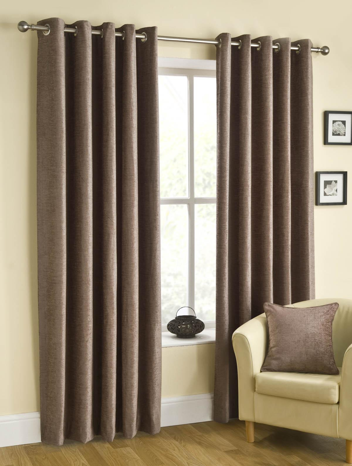Stockists of Mink Puerto Ready Made Eyelet Curtains