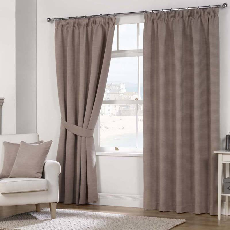 Stockists of Mocha Julian Charles Naples Fully Lined Ready Made Curtains