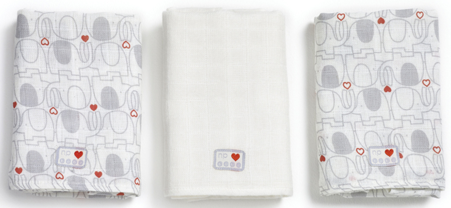 Bargain My 1st Friend Muslin Squares - Pack Of 3 Stockists