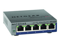 Bargain NETGEAR ProSafe Plus GS105E 5-port Gigabit Ethernet Switch - switch - 5 ports Stockists