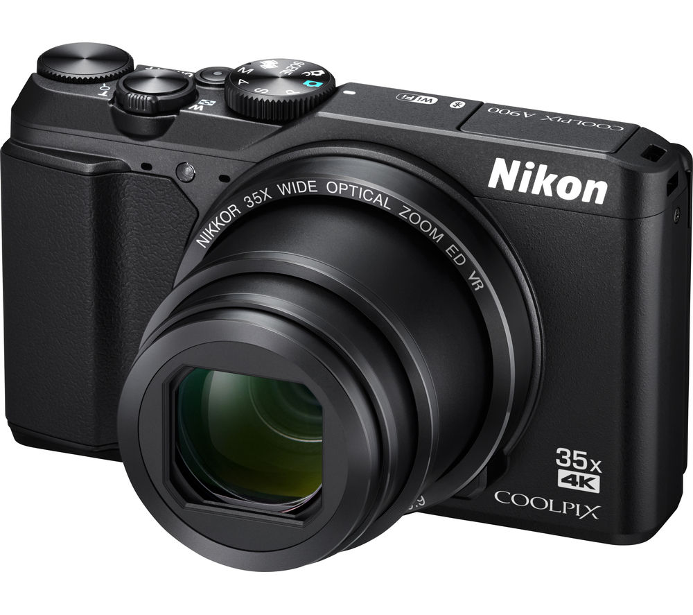Bargain NIKON COOLPIX A900 Superzoom Compact Camera - Black, Black Stockists