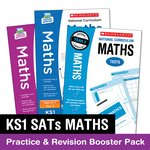 Stockists of National Curriculum SATs Tests: KS1 Maths Practice and Revision Booster Pack x 2