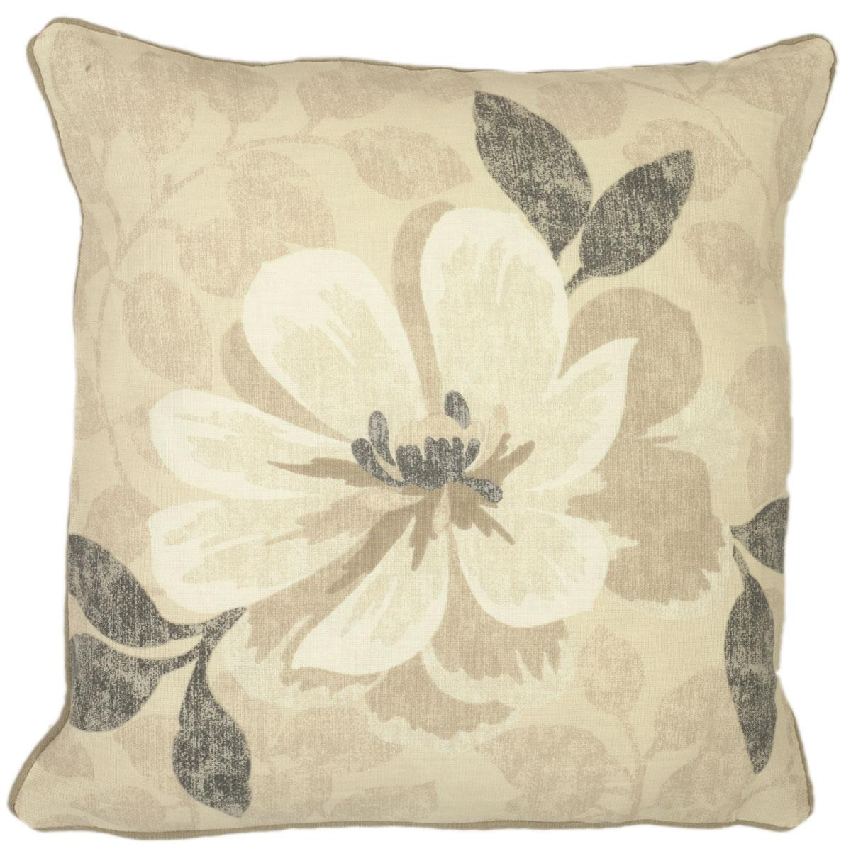 Bargain Natural Annabella Square Cushion Filled Stockists