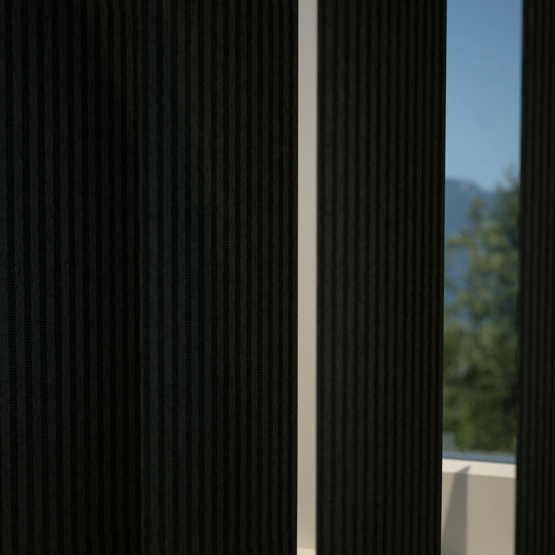 Stockists of Nero Pearl Vertical Blind