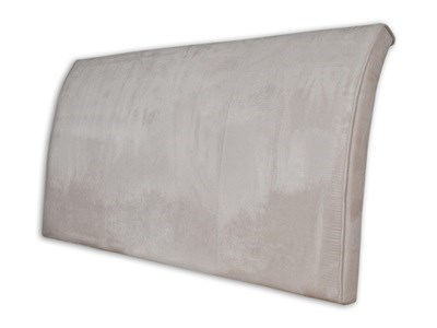 "Stockists of New Design Alpha - Barley 4' 6"" Double Barley Faux Suede Headboard Only Fabric Headboard"
