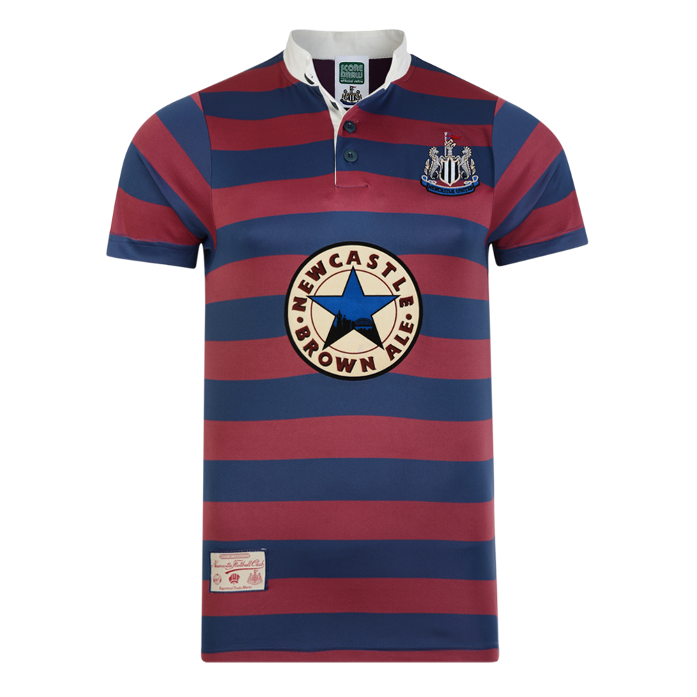 Bargain Newcastle United 1996 Away Retro Football Shirt Stockists