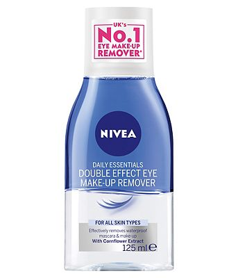Bargain Nivea Daily Essentials Double Effect Eye Make Up Remover 150ml Stockists